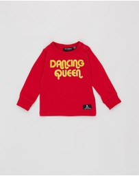 Rock Your Baby - Dancing Queen Long Sleeve T-Shirt - Babies