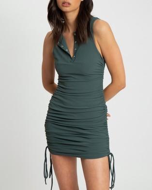 BWLDR Lisa Mini Dress - Bodycon Dresses (Emerald)