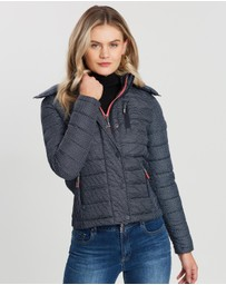 Superdry - Fuji Slim Double Zip Hood Jacket