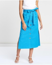 See By Chloé - Midi Buttoned Skirt