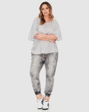 17 Sundays Loophole Joggers - Jeans (Grey)