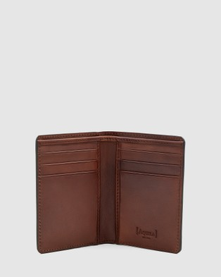 Aquila Archie Card Wallet Travel and Luggage Brown