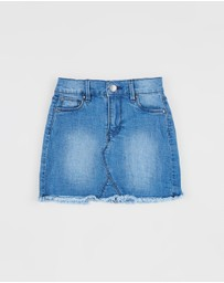 Cotton On Kids - Finn Denim Skirt - Kids