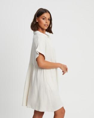 The Fated Maribelle Shirt Dress - Dresses (Sand)