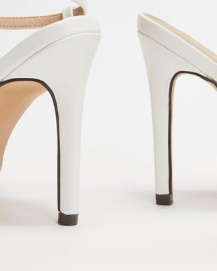 4th & Reckless - Anais Heels - Heels (White) Anais Heels