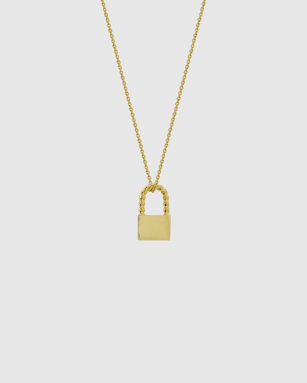 ALIX YANG Carmen Necklace Jewellery Gold