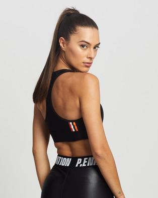 P.E Nation Baseline Endurance Sports Bra - Crop Tops (Black)