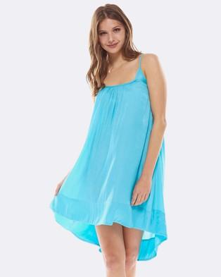 Deshabille – Belagio Dress Aqua Aqua