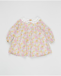 Bebe by Minihaha - Liberty Lace Collar Dress - Babies
