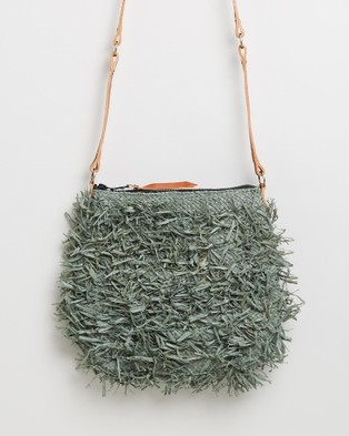 Sans Arcidet Paris Balagan Pile Poil Pocket Medium - Bags (Safari)