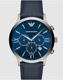 Emporio Armani - Blue Chronograph Watch