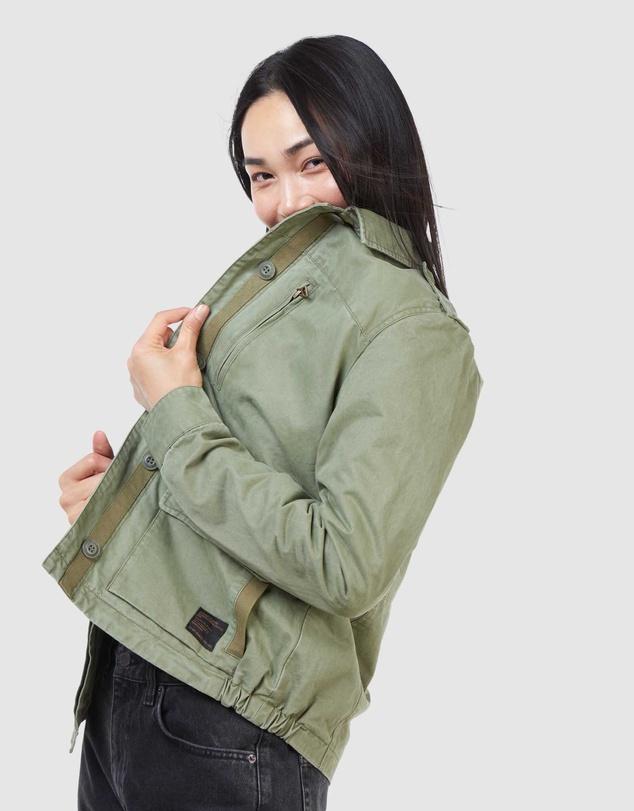 Women French Military Recruit Jacket