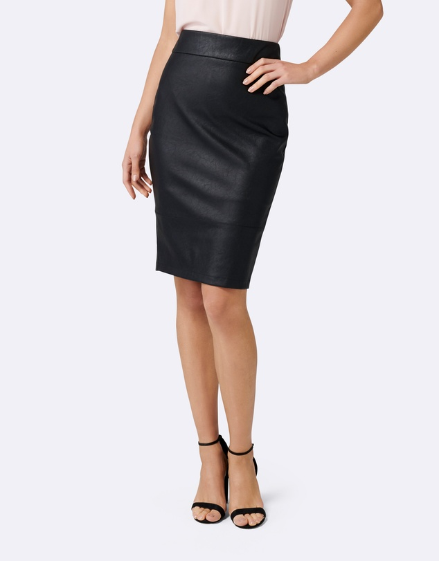 Forever New - Alex PU Pencil Skirt