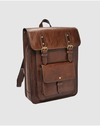 Fossil - Greenville Cognac Backpack