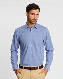 Banana Republic - Non-Iron Micro Gingham Shirt