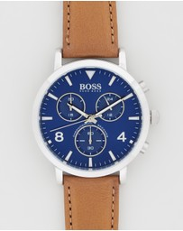 BOSS - Spirit Chronograph Leather Watch