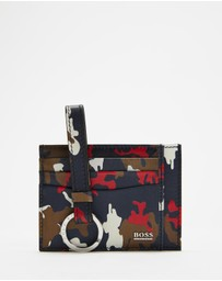 BOSS - Gift Box Camo S Card Case & Keyring