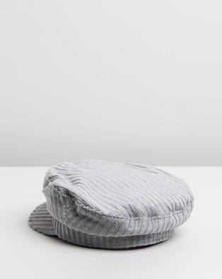 Ace Of Something Broadwick Cap - Headwear (Silver)