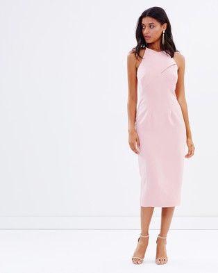 Atmos & Here – Erica Wrap Me Up Dress – Dresses (Pink)