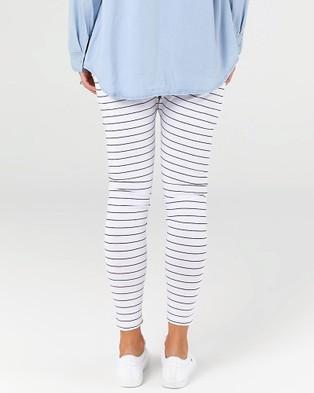 legoe Perspective Harems - Sweatpants (White & Black)