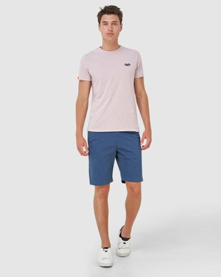 Superdry International Chino Short - Chino Shorts (Ensign Blue)