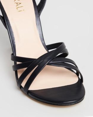 Verali Olsen - Sandals (Black Smooth)