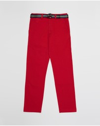 Polo Ralph Lauren - Belted Super Skinny Chino Pants - Teens