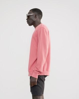 Skwosh Berry Skwosh Club Sweater - Sweats (pink)
