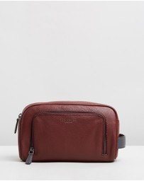 Ted Baker - Miel Leather Wash Bag