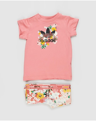 adidas Originals - Tee Dress Set - Babies-Kids