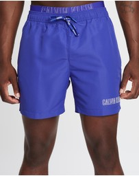 CK Swim - ​Double Waistband Swim Shorts