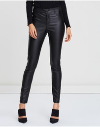 Dorothy Perkins - Coated Frankie Pants