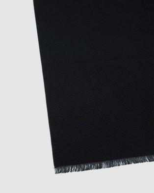 Oxford Joplin Scarf - Scarves & Gloves (Black)