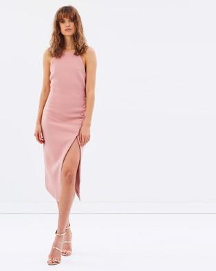 Bec & Bridge – Nouveau Split Dress – Dresses (Rosa)