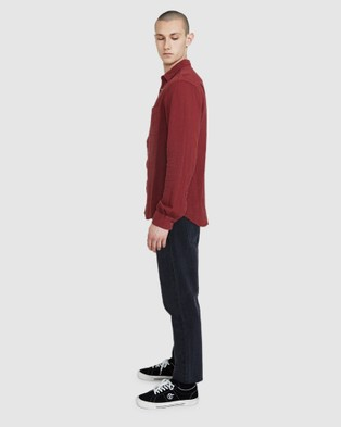 Insight Louie Long Sleeve Shirt - Shirts & Polos (RED)