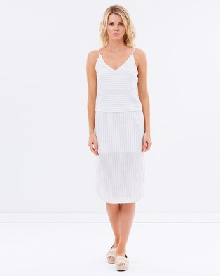 Cooper St – Turn Around Dress – Dresses (Stripe)