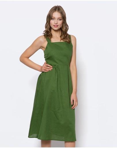 Linen Dresses Buy Womens Linen Dresses Online Australia The Iconic