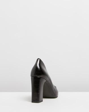 Siren Babette - All Pumps (Black Crocco Leather)