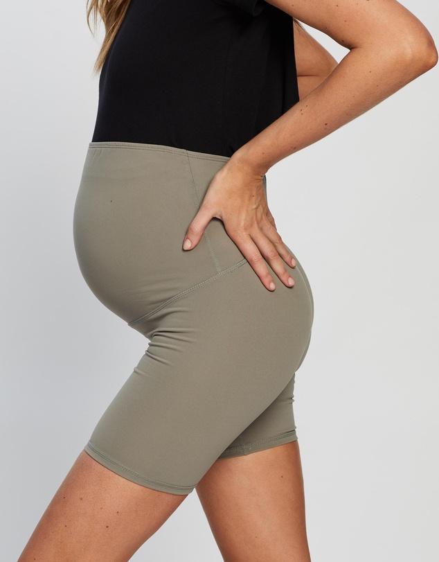 Women Maternity Bike Shorts
