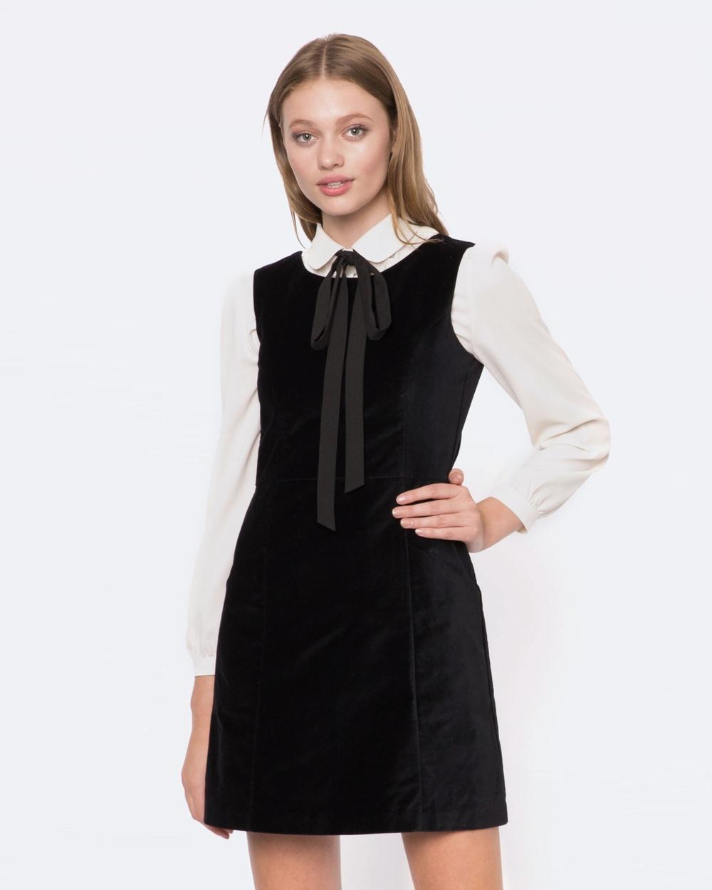 Princess Highway Velvet Dress Dresses Black Velvet Dress