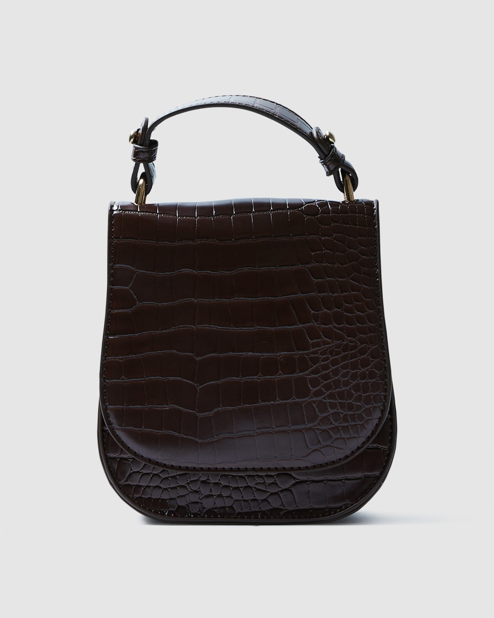 Alice In The Eve Libby Micro Saddle Bag Bags BROWN