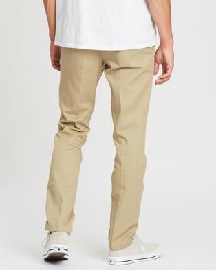 Dickies 872 Slim Straight Tapered Fit Pants - Pants (Khaki)