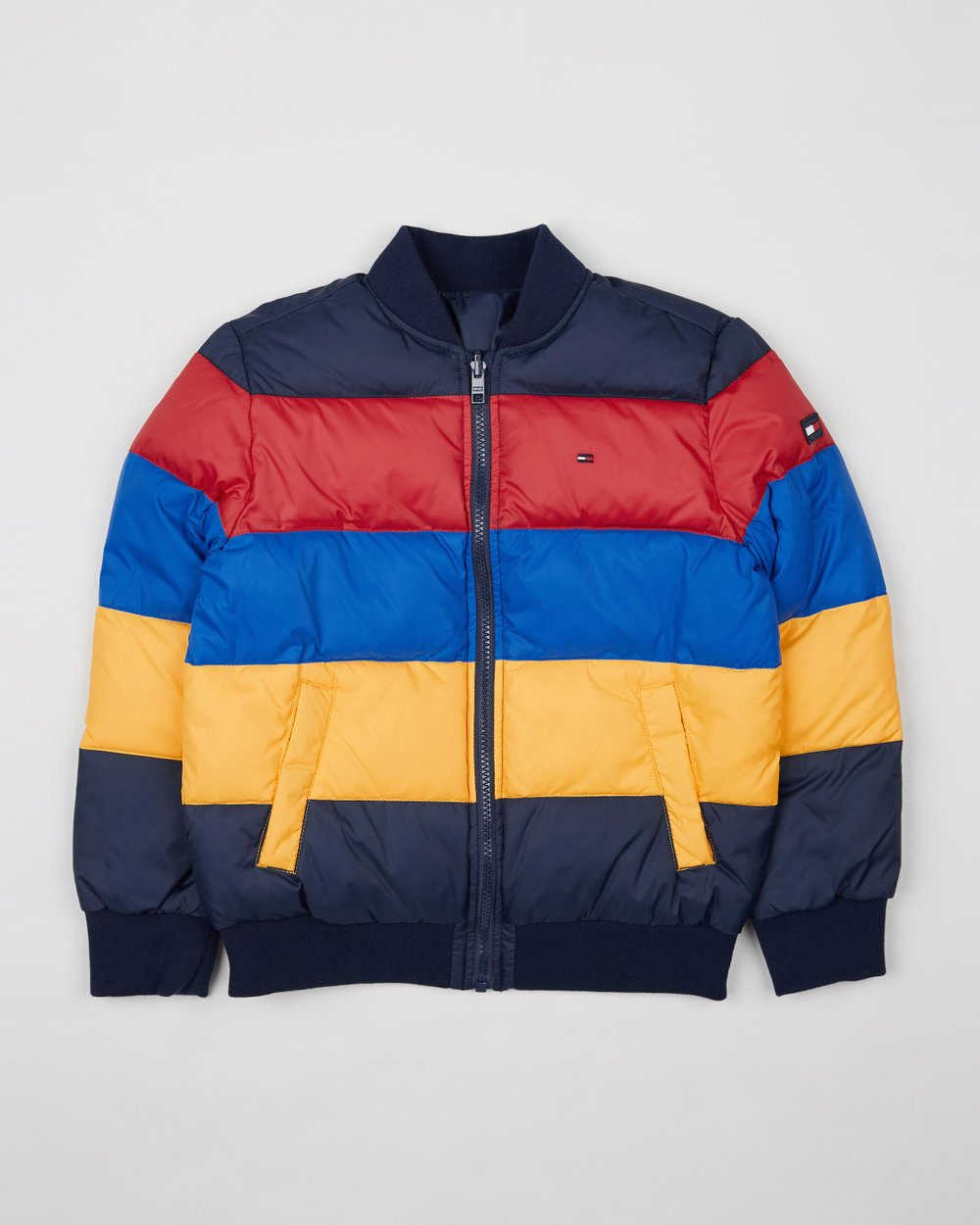 233cb85a9 Reversible Colour Block Puffer Jacket - Teens by Tommy Hilfiger Kids Online  | THE ICONIC | Australia