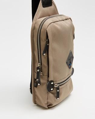 Harvest Label Mini Square - Bags (Beige)