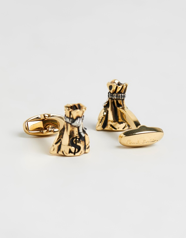 Paul Smith - Money Bag Cufflinks