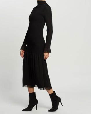 Grace Willow Talia Dress - Bodycon Dresses (Black)