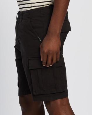 Rusty Manila Cargo Shorts - Shorts (Black)