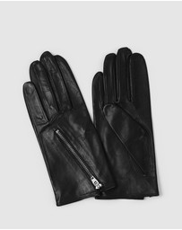 Kate & Confusion - Biker Chick Leather Gloves