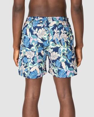 Ben Sherman Palm Leaf Swim Shorts - Swimwear (Multi)