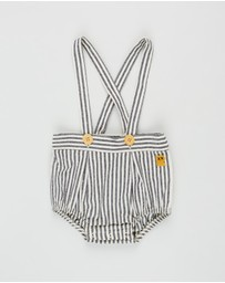 Rock Your Baby - Stripe Romper - Babies